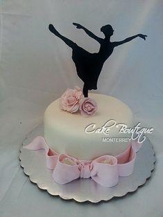 Ballerina Cake, Ballet Cake, Bailarina