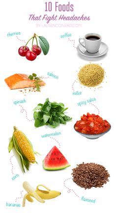 10 foods that fight headaches