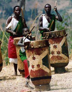 THE ROYAL DRUMMERS OF BURUNDI