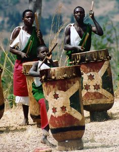 ♫♪ Music ♪♫ everywhere... African drum