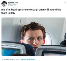 "Memes That Roast People Who Travel With Coronavirus - Funny memes that ""GET IT"" and want you to too. Get the latest funniest memes and keep up what is going on in the meme-o-sphere. Really Funny Memes, Stupid Funny Memes, Funny Relatable Memes, The Funny, Funny Texts, Fuuny Memes, Funny Stuff, Memes Humor, True Memes"