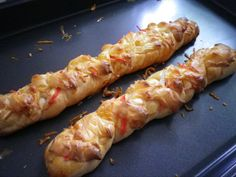 Crab stick and cheese bread <3