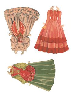 Miss Missy Paper Dolls: Gone with the Wind