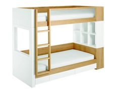 Modern Bunk Beds   Dotcoms for Moms Converts to two twins.