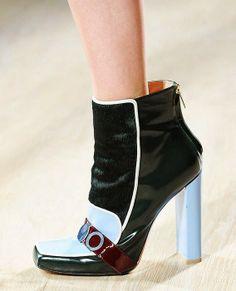 Mary Katrantzou winter 2014-15 boots