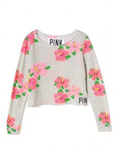Shrunken Crew - PINK - Victorias Secret