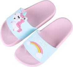 Summer Kids  Slippers Boys Girls Infant Soft Beach Shower Slider Sandals