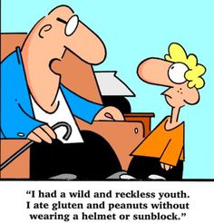 Wild and reckless youth. - 'Thin Lines' by Randy Glasbergen; Coffee Cartoon, Today Cartoon, Silly Photos, Silly Me, Funny Captions, Smiles And Laughs, Fact Quotes, Funny Thoughts, Humor