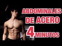 Rutina de ABDOMINALES en CASA 4 MINUTOS para hacer a diario - YouTube