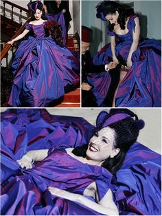 Celebrity Weddings: Dita Von Teese Wedding Dress