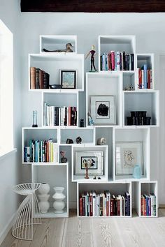 Storage | Book case | Shelves | Stacked by Muuto