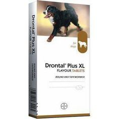 Drontal Plus XL Beef Flavour Dog Worming Tablet  On Discount - http://extrasaving.co.uk/store/bestpetvoucher/