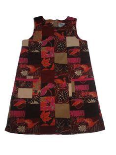 Girl Lilly Pulitzer Saranac Fall Winter Corduroy Shift Dress Jumper Size 10 #LillyPulitzer #EverydayDressyHoliday