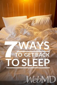 http://www.webmd.com/sleep-disorders/tips-for-better-sleep?ecd=soc_pin_04082015_waystogetbacktosleep It's the middle of the night, and you're wide #awake. You need to be rested for your big day at work tomorrow. What can you do to get back to #sleep?