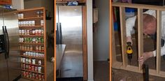 How to Build a Pull-Out Pantry Cabinet