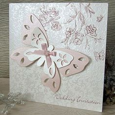 Cute and romantic butterfly wedding invitations – Wedding Clan