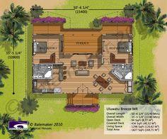 Layout for Hawaiian home