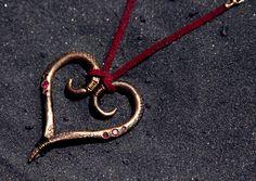 SPIRALING LOVE PENDANT - MADE TO ORDER www.luminariumjewelry.com