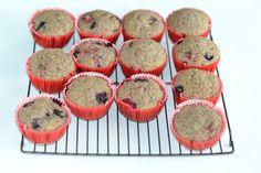 Chai Berry Muffins (Vegan)  #SundaySupper
