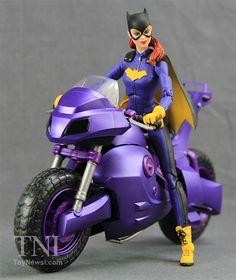 DC Comics Icons - Batgirl Of Burnside Deluxe Figure Video Review - Action Figures