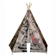 Perfect for the camo lover in your home. Easy to assemble and a blast to play in. http://www.sensoryedge.com/6-ft-camo-teepee.html