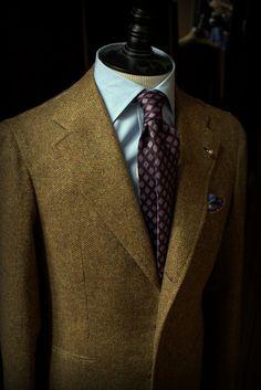 Orazio Luciano x Caccioppoli Tweed