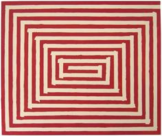 Sharon Butler, After Frank Stella?, 2016, Oil on Canvas, 32 x 26 inches