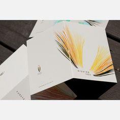 Wishing You Notecards by Kamal ($22)