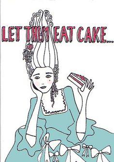 Natalie Hughes // Let Them Eat Cake // 2008
