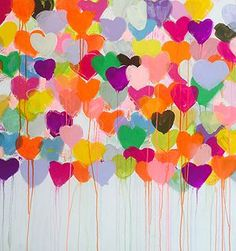 kerrirosenthalart | DRIPPY HEART
