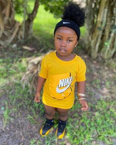 Teen Swag Outfits, Cute Little Girls Outfits, Toddler Outfits, Baby Boy Outfits, Cute Girls, Kids Outfits, Little Girl Swag, Cute Black Babies, Black Baby Girls
