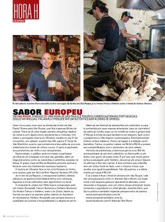 #oalemãobarebistro #bardedardos #barsãoroque - O chef Joachim Kern (Alemão) na Revista 29 Horas, do aeroporto de Congonhas, SP.