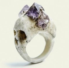 Sisters of the Black Moon skull ring