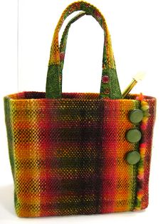 Ravelry: FatCatKnits' Chevalier Small Knitting Tote