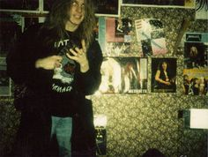 """Dead"" (born Per Ohlin in Sweden) from Norwegian black metal band Mayhem. RIP"
