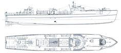 1944 wurden bei der Danziger Waggonfabrik die Schnellboote S 701 - S 800 nach den Plänen des Typs 219 in Auftrag gegeben. Die Boote erhielten zusätzlich zwei nach achteraus schießende Hecktorpedorohre, so dass vier Torpedos geschossen werden konnte, ohne nachladen zu müssen
