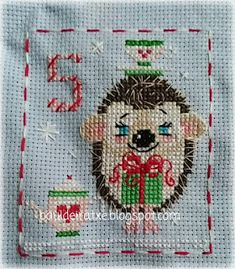 Cross Stitch Cards, Cross Stitch Embroidery, Embroidery Patterns, Christmas Cross, Xmas, Plant Holders, Needlework, Crocheting, Holidays