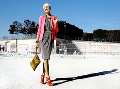 Elisa Nalin, she has an amazing style.