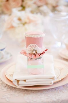 Inspired by This Pink Vintage Tea Party Bridal Shower by Chris & Kristen Photography | Inspired by This Blog