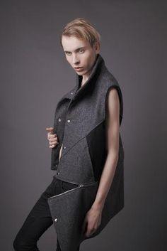 fragmentt kolekcji  Pracowni Kappe projektant Gabriela Hezner  wykonanie Konrad Ongirski  fot. Kamila Limanowicz / ECManagement  men outfits / men fashion