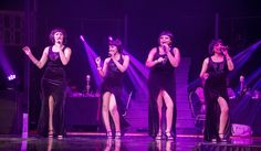 This vibrant, local quartet of songstresses is bigger, brighter and bolder than ever, belting out everything from high energy top 40 hits to memorable bluesy ballads in Top 40 Hits, High Energy, 15 Years, Celebration, How To Memorize Things, Vibrant, Tours, Concert, 15 Anos