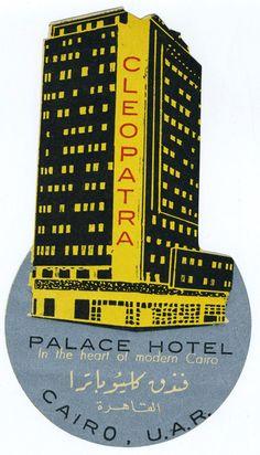 Vintage hotel Luggage Tag