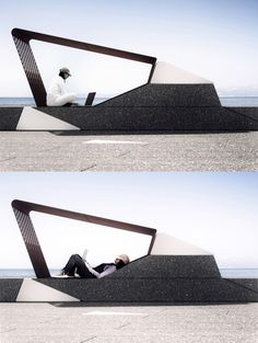 the project is made up of micro-architecture, modular urban furniture and…