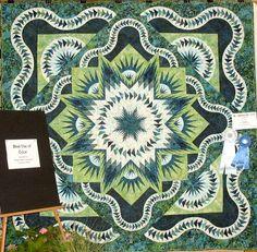 Glacier Star, Quiltworx.com, Made by Robyn Winn.