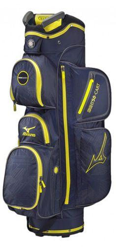 Sac de golf Mizuno eight50 cart navy/jaune