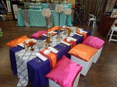 Moroccan themed table design