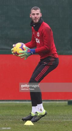 News Photo : David de Gea of Manchester United in action. Doubledown Casino, One Team, Football Team, Manchester United, Basketball Court, Action, The Unit, Fun Games, News