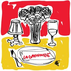 La Grenouille by Faris Habayeb