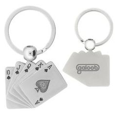 Promotional products - The Royal Flush Key Chain.  As low as $1.79 each