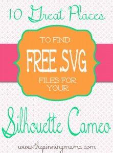 Gratis SVG's (met Inkscape om te zetten naar een DFX-formaat waar Studio Basic ook mee om kan gaan)
